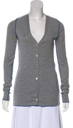 Stella McCartney Virgin Wool Knit Cardigan