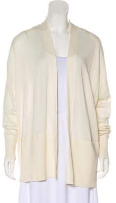 Vince Silk Open Front Cardigans