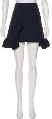 Marni Ruffled Knee-Length Skirt Ruffled Knee-Length Skirt