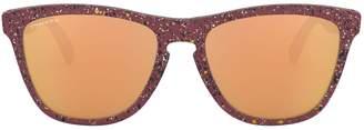 Oakley Performance Lifestyle 55mm Round Mirrored Sunglasses