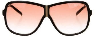 Jimmy Choo Jimmy Choo Oversize Aviator Sunglasses