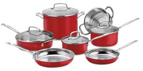 CuisinartChef's Classic Cookware Set (11PC)