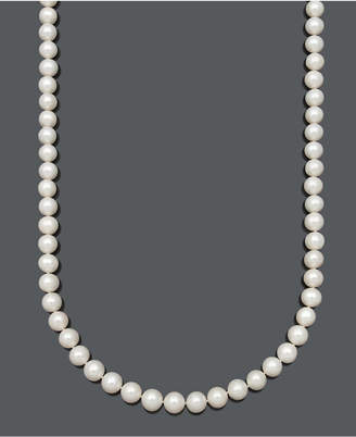 """Belle de Mer Gold Aa 30"""" Cultured Freshwater Pearl Strand Necklace (9-1/2-10-1/2mm) in 14k Gold"""