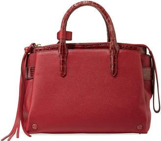 Nancy Gonzalez Christy Small Crocodile/Leather Tote Bag