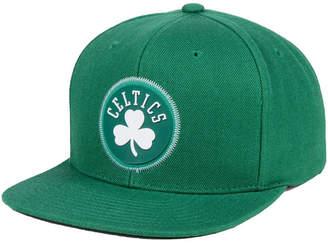 Mitchell & Ness Boston Celtics Zig Zag Snapback Cap