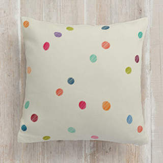 dot fabric Square Pillow