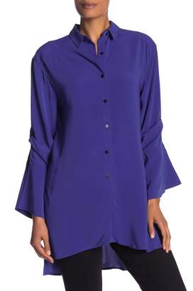 Kenneth Cole New York Split Sleeve Tunic Shirt