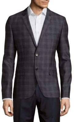 HUGO BOSS Arti Plaid Jacket