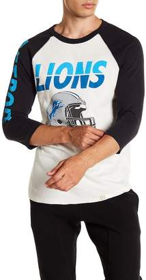 Junk Food Clothing Detroit Lions All American Raglan Shirt