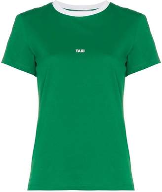 Helmut Lang logo printed crew neck t-shirt