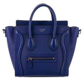 Céline Nano Luggage Tote