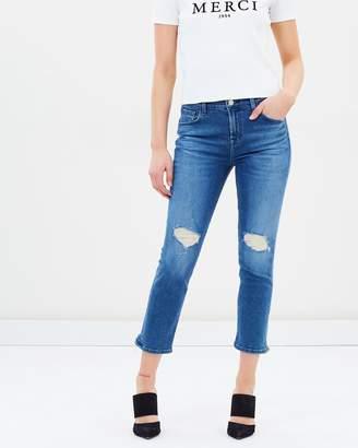 J Brand Ruby HR Crop Cigarette Jeans