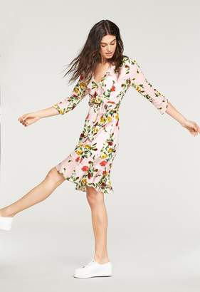Milly Rose Print Audrey Dress