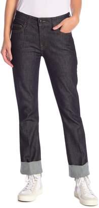 Frame Rolled Hem Jeans
