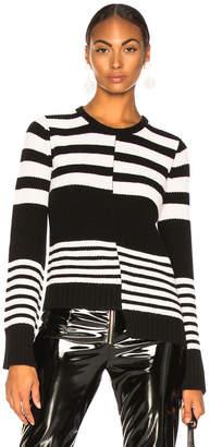 Equipment Elm Sweater in Ivory & Black | FWRD