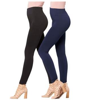 Conceited Premium Winter Leggings - High Waist Fleece Lined Leggings in Vibrant Colors (Large/X-Large (10-20), )
