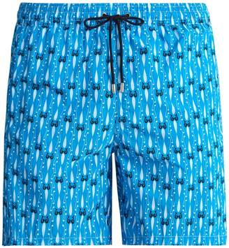 Le Sirenuse LE SIRENUSE, POSITANO Melody-print swim shorts
