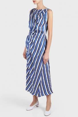 Zero Maria Cornejo Elise Ruched Dress