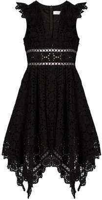 Zimmermann Divinity Wheel broderie-anglaise dress