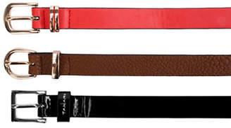 Tahari Three-Pack Triple Crown Belt Set