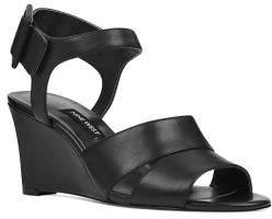Nine West Vahan Leather Wedge Sandals