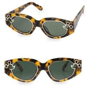 Karen Walker x Disney Cast Of Two 52MM Oval Sunglasses