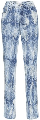 Jordache high-rise acid wash jeans