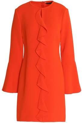 Rachel Zoe Monner Ruffled Crepe Mini Dress