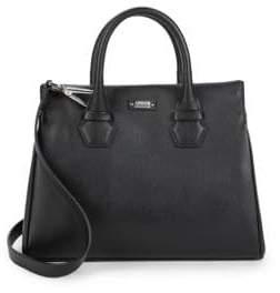 Armani Collezioni Classic Leather Satchel