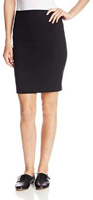 Amy Byer A. Byer Juniors Pull-On Slim Fitting Pencil Skirt