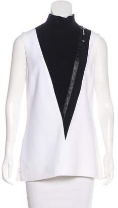 Thierry Mugler Embellished Sleeveless Top