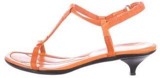 Prada Sport T-Strap Sandals