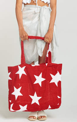 Show Me Your Mumu Terry Cloth Tote Bag ~ Catch a Falling Star Terry