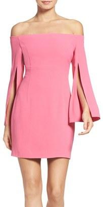 Women's Bardot Ava Off The Shoulder Dress $109 thestylecure.com
