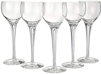 One Kings Lane Vintage Cut Crystal Air Trap Stems - Set of 5 - Portfolio No.6