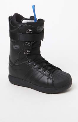 adidas Superstar ADV Black Snowboarding Boots