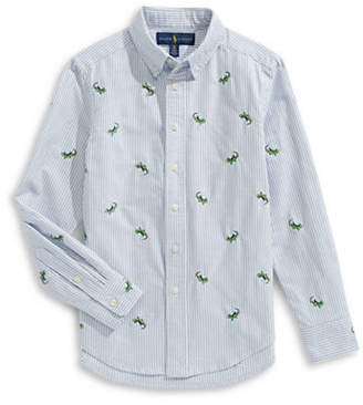 Ralph Lauren Oxford Cotton Collared Shirt