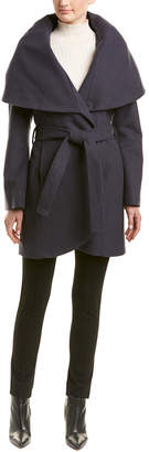 T Tahari Tahari Marla Wool-Blend Coat