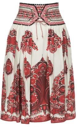 Lena Hoschek Gypsy Skirt Ornament Red