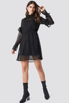 Rut & Circle Rut&Circle Swiss Dot Dress Black