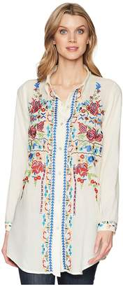 Scully Bailee Sexy Fabric Embroidered Blouse Women's Clothing