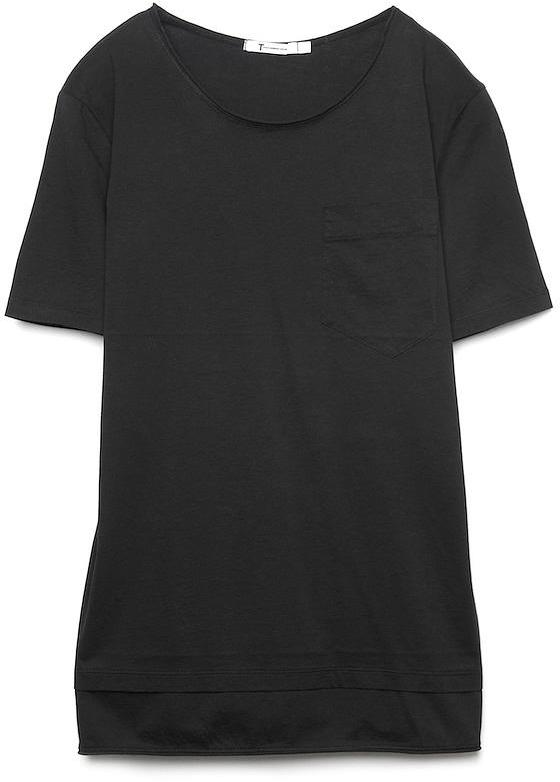 T by Alexander Wang Lightweight Roll-trim Tee