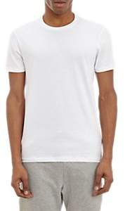 Barneys New York MEN'S COTTON CREWNECK T-SHIRT-WHITE SIZE S
