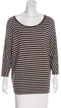 Vince Striped Knit Top