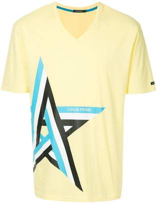 GUILD PRIME striped star print T-shirt