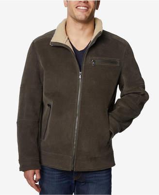 Buffalo David Bitton Men's Corduroy Jacket with Fleece-Lined Collar