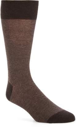 Cole Haan Pique Texture Crew Socks