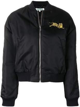 Kenzo zipped bomber jacket