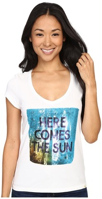 Life is good Here Comes The Sun Trees Newbury Vee $22 thestylecure.com