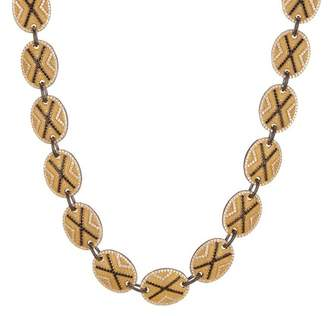 Freida Rothman Pave Crystal Collar Necklace